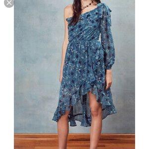For love & lemons Agnes one shoulder dress